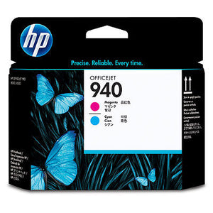 HP C4901A #940 Magenta And Cyan Officejet Printhead
