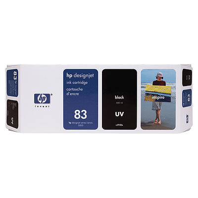 HP C4940A HP #83 Black Uv Ink Cartridge For Designjet 5000 Series
