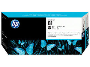 HP C4950A HP #81 Black Dye Printhead & Cleaner For Designjet 5000 Series