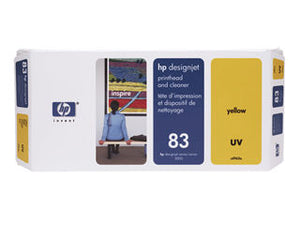 HP C4963A HP #83 Yellow Uv Printhead & Cleaner For Designjet 5000 Series