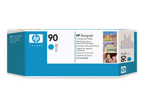 HP C5055A HP #90 Cyan Printhead And Cleaner