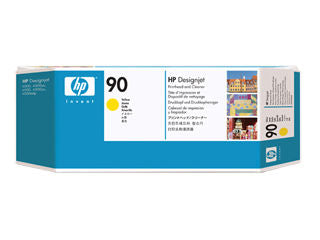 HP C5057A HP #90 Yellow Printhead And Cleaner