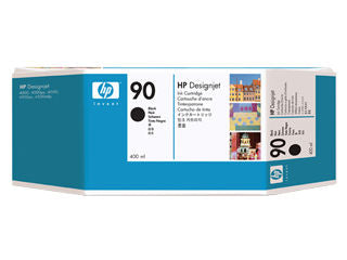 HP C5058A HP #90 Black 400ml Ink Cartridge