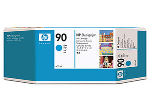 HP C5061A HP #90XL Cyan 400ml Ink Cartridge