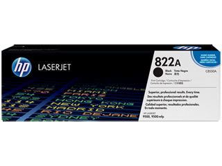 HP C8550A #822A Toner for Color LaserJet 9500 Black
