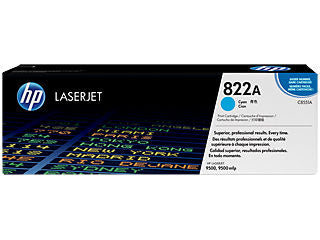 HP C8551A #822A Toner for Colour LaserJet 9500 Cyan