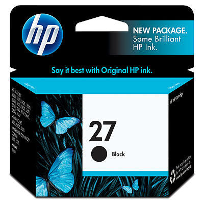 HP C8727AN#140 HP #27 Black Inkjet Print Cartridge