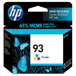 HP C9361WN#140 HP #93 Tricolor Print Cartridge
