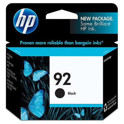 HP C9362WN#140 HP #92 Black Print Cartridge