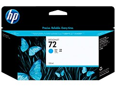 HP C9371A HP #72 130ml Cyan Ink Cartridge