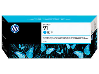 HP C9467A HP #91 775ml Cyan Cartridge