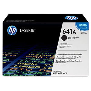 HP C9720A #641A Black Toner Cartridge For Colour Laserjet 4600