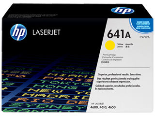 HP C9722A #641A Magenta Toner Cartridge For Colour Laserjet 4600