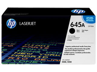 HP C9730A  #645a Black Toner Cartridge For Colour Laserjet 5500