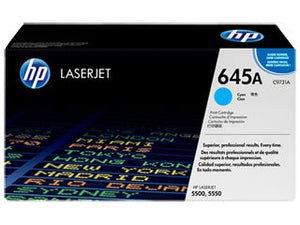HP C9731A  #645A Cyan Toner Cartridge For Colour Laserjet 5500