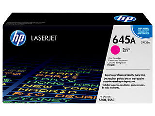HP C9733A #645A Yellow Toner Cartridge For Colour Laserjet 5500