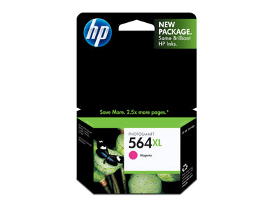 HP CB324WN #564XL Magenta Ink Cartridge Sensormatic