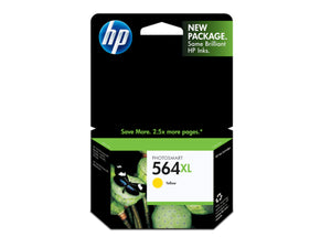 HP CB325WN #564XL Yellow Ink Cartridge Sensormatic