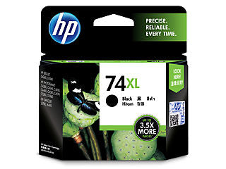 HP CB336WN #74XL Black Inkjet Print Cartridge