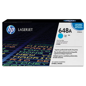 HP CE261A #647A Cyan Cartridge For Color Laserjet CP4525
