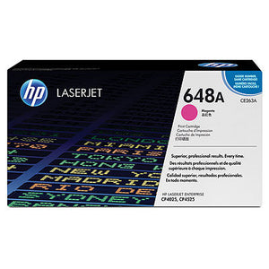 HP CE263A #647A Magenta Cartridge For Color Laserjet CP45253