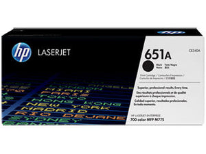 HP CE340A #651 Black Toner For Color Laserjet Mfp 775