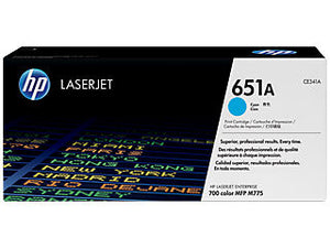 HP CE341A #651 Cyan Toner For Color Laserjet Mfp 775