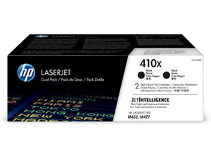 HP CF410XD #410X Black HY Toner Twin Pack For M452dn/M452nw/M477fdn/M477fdw/M477fnw