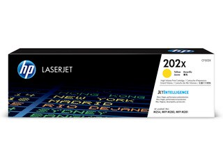HP CF502X #202X Yellow HY Toner For Color Laserjet Pro M254/M280 Series