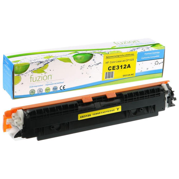 Alternative Yellow toner for use with HP Colour Laserjet Pro CP1025 #126A CE312A
