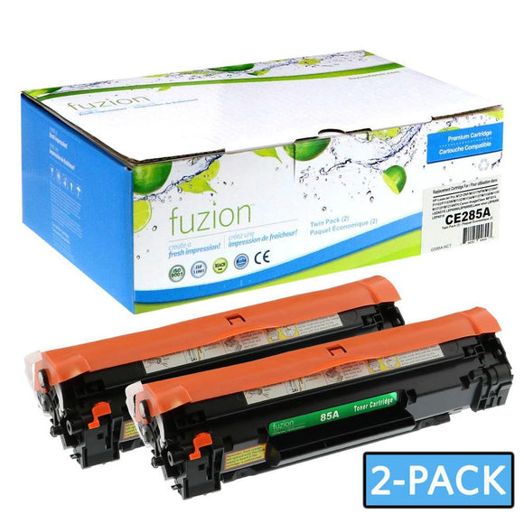 Alternative toners for use with HP Laserjet P1102 #85A CE285D Twin Pack