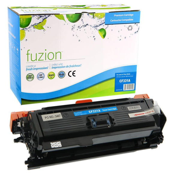 Alternative Cyan toner for use with HP LaserJet Enterprise 600 #654X CF331X
