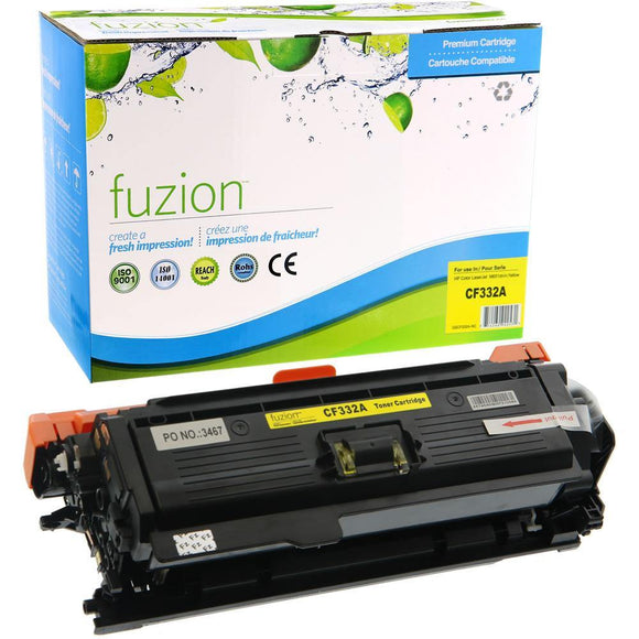Alternative Yellow toner for use with HP LaserJet Enterprise 600 #654A CF332A