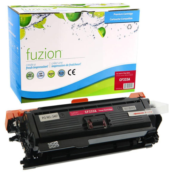 Alternative Magenta toner for use with HP LaserJet Enterprise 600 #654A CF333A