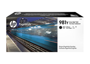 HP L0R16A #981Y Black Extra High Yield For Pagewide 556dn/586dn