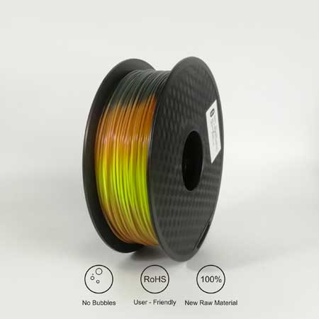 PLA Tri Color Change-Lava 1Kg
