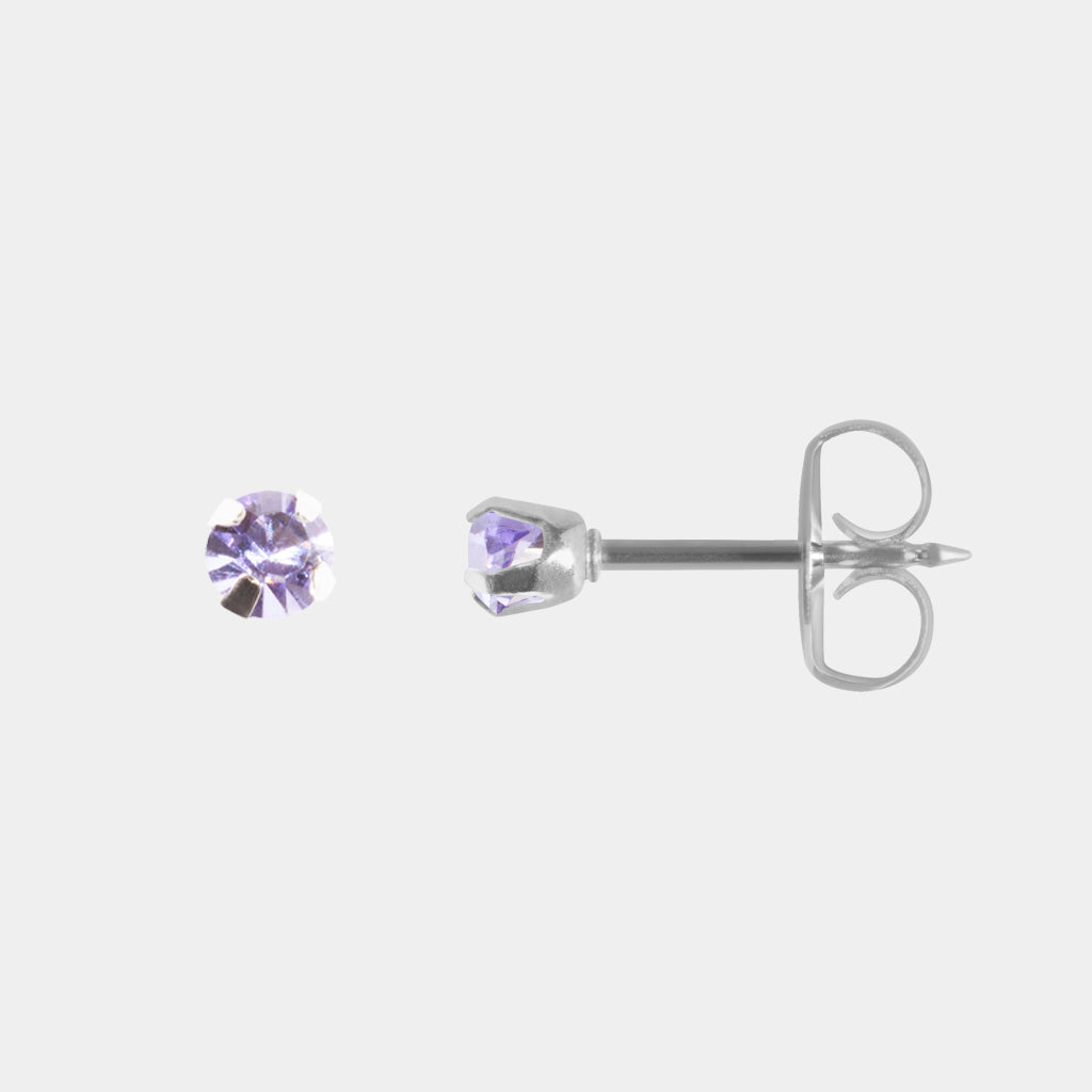 Studex 3mm Tanzanite Surgical Steel Stud