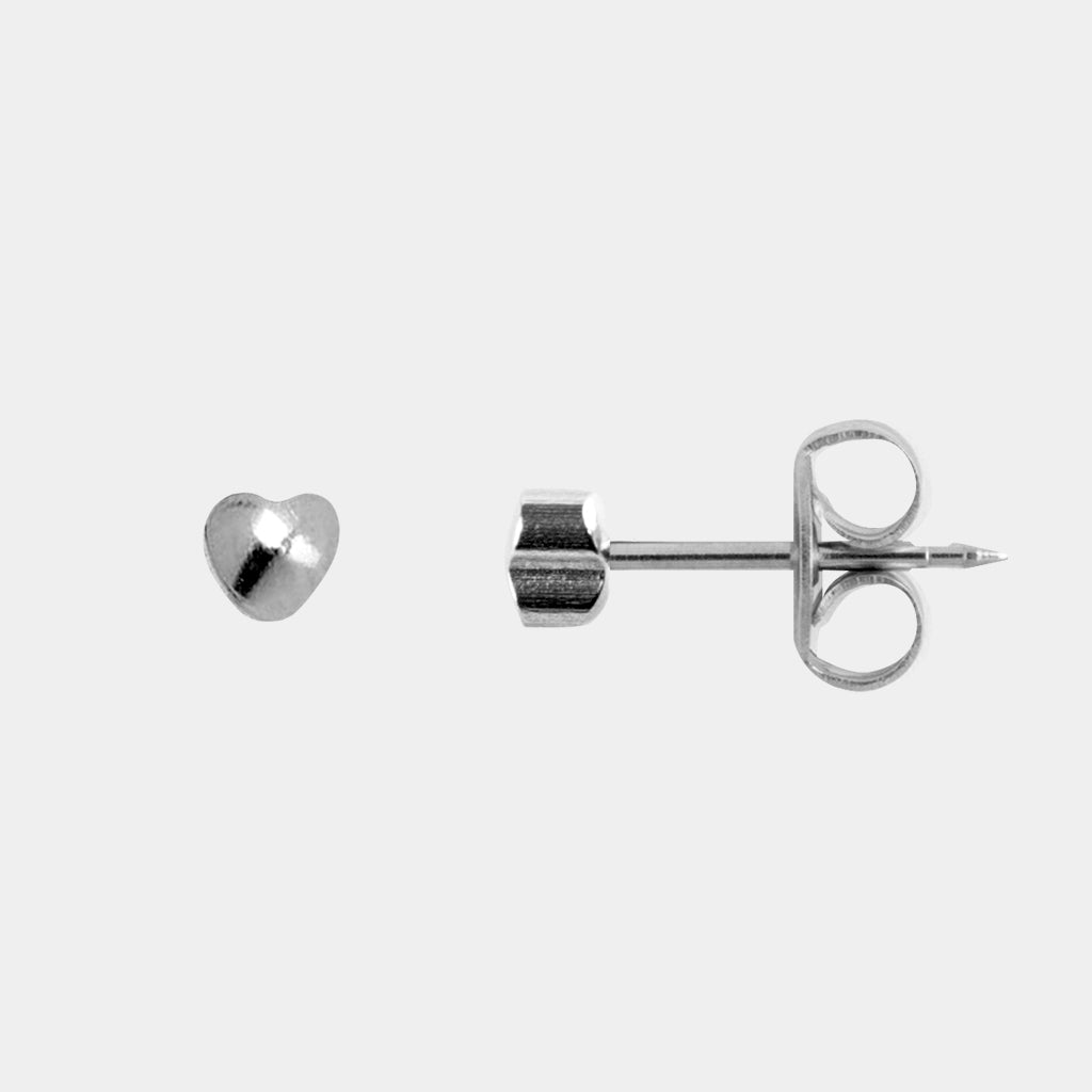 Studex 4mm Heart Surgical Steel Stud