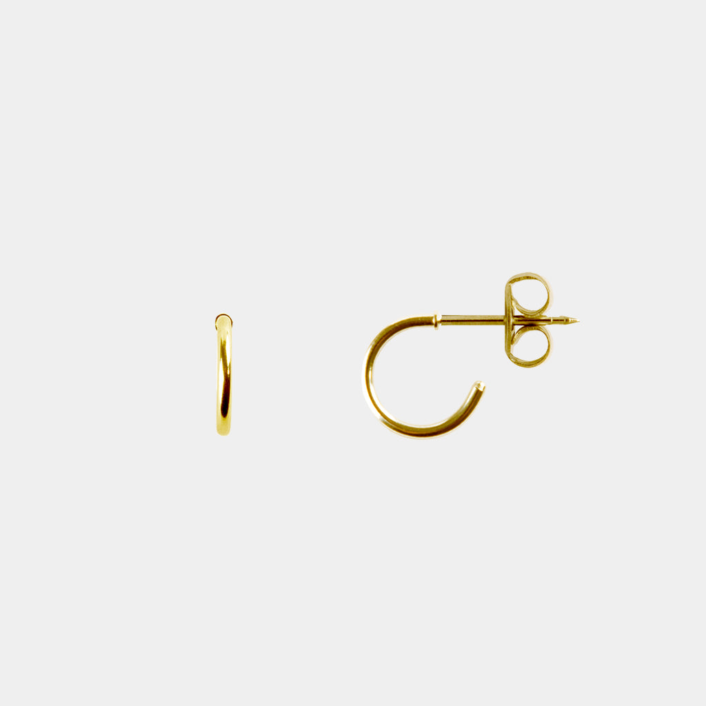 "Studex 24K Gold 1/2"" Hoop"