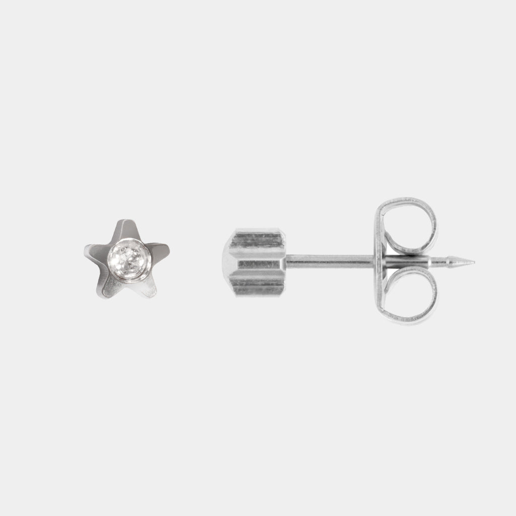 Studex 3mm Starlite Crystal Surgical Steel Stud