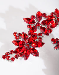 Red Gem Floral Clip 2 Pack - link has visual effect only