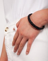 Crater Black Bracelet - link has visual effect only