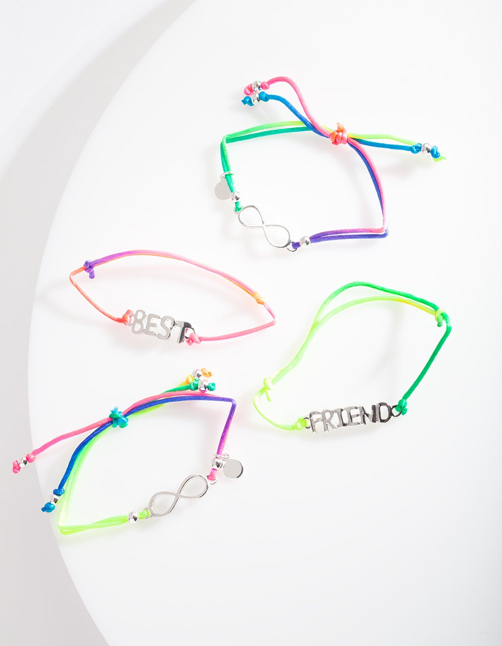 Kids Neon Best Friends Bracelet Pack
