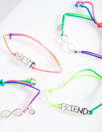 Kids Neon Best Friends Bracelet Pack - link has visual effect only