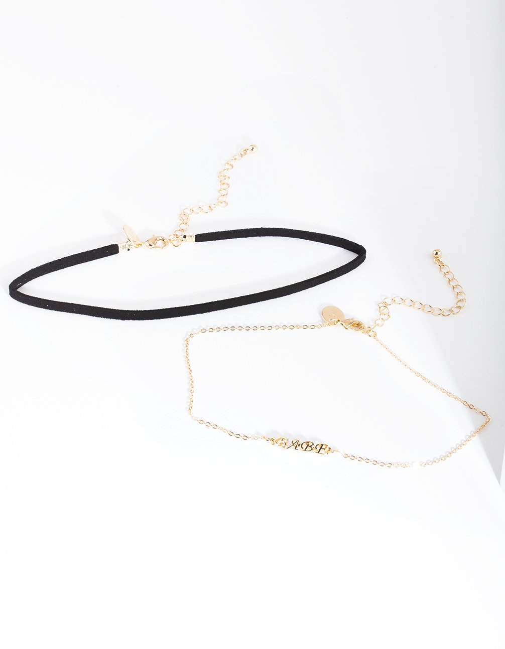 Black Gold Babe Choker Necklace