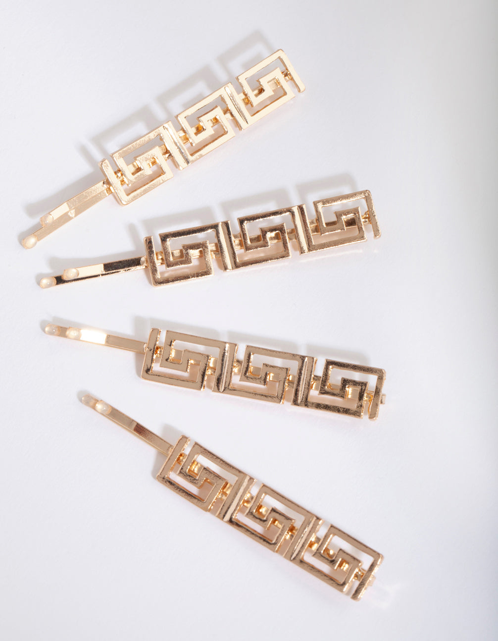 Gold Grecian Hair Slide Pack