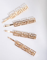 Gold Grecian Hair Slide Pack - link has visual effect only