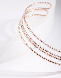 Rose Gold Double Bracelet - link has visual effect only