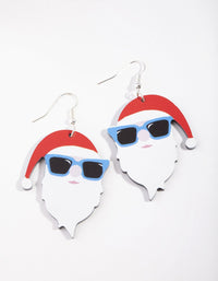 Cool Santa Drop Earring - link has visual effect only