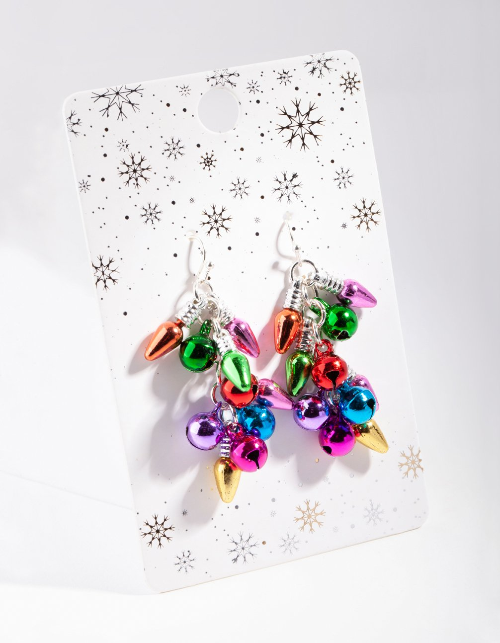 Silver Multi Jingle Earring